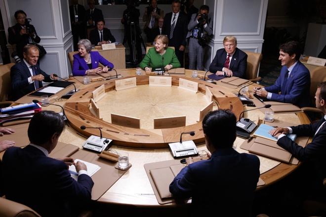 Tuyen bo chung G7 noi gi khien ong Trump bat ngo 'xe bo'? hinh anh 1
