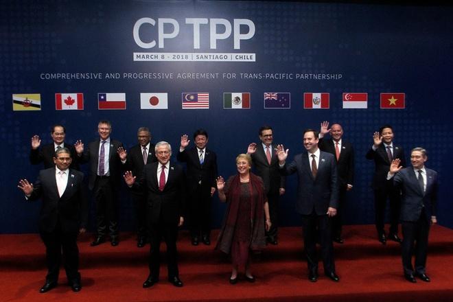 Singapore phe chuan hiep dinh TPP-11 hinh anh 1