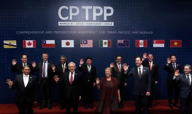 Singapore phe chuan hiep dinh TPP-11 hinh anh