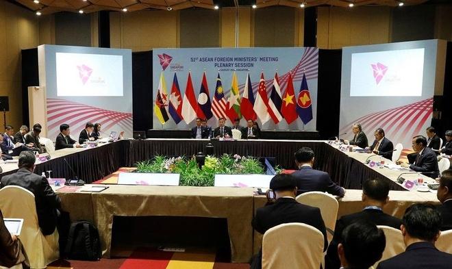 Ngoai truong Singapore: Dam phan COC Bien Dong co tien trien moi hinh anh