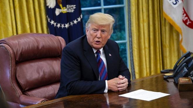 TT Trump: Gio khong phai luc dam phan thuong mai voi Trung Quoc hinh anh