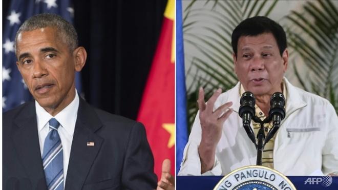 Duterte xin loi vi tung goi Obama la 'do con hoang' hinh anh 1