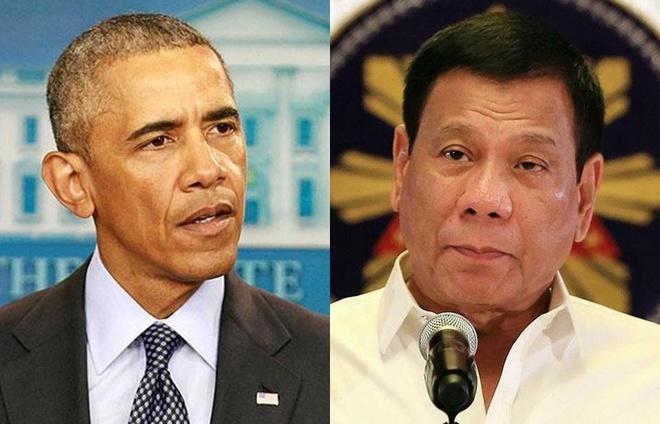 Duterte xin loi vi tung goi Obama la 'do con hoang' hinh anh