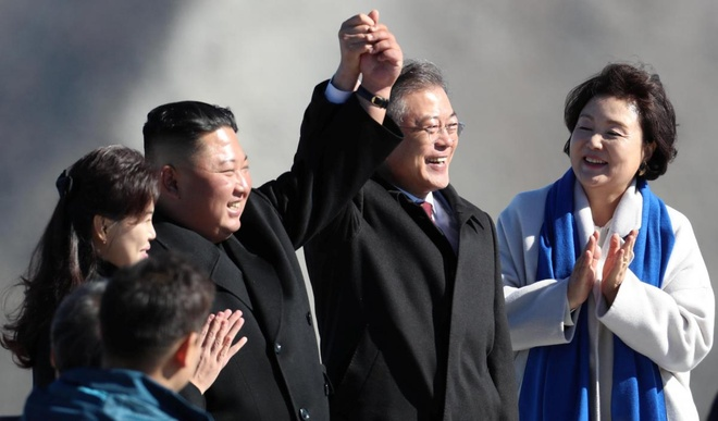 Ong Kim Jong Un co the den Han Quoc vao thang 12 hinh anh 1
