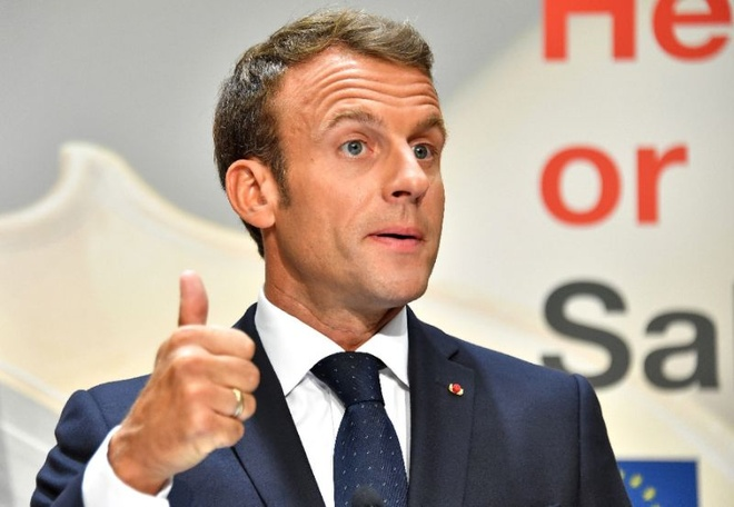 Ty le ung ho Macron o muc thap ky luc hinh anh