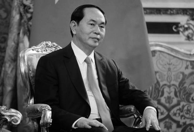 Hoang gia Campuchia, Nhat Ban chia buon Chu tich nuoc tu tran hinh anh