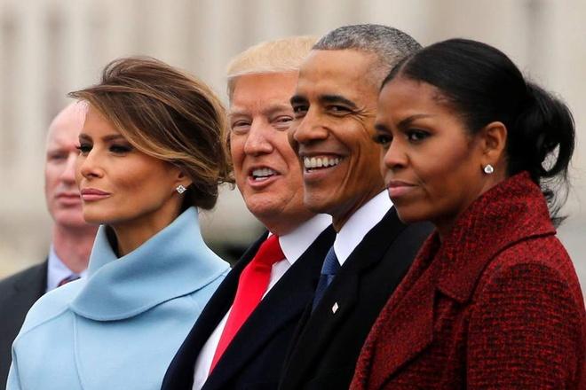 Michelle Obama - Donald Trump: Su doi lap dien hinh cua nuoc My? hinh anh