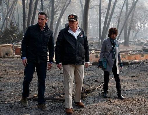 TT Trump den 'Thien duong' hoa tro tan vi chay rung o California hinh anh