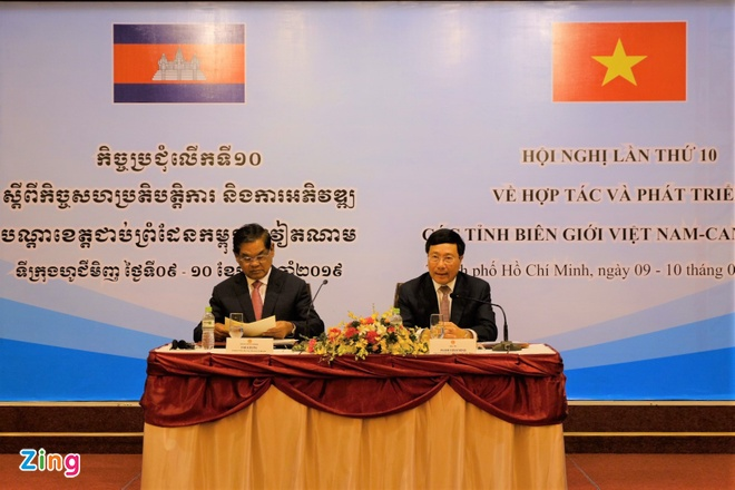 Viet Nam, Campuchia no luc day manh hop tac vung bien hinh anh 1