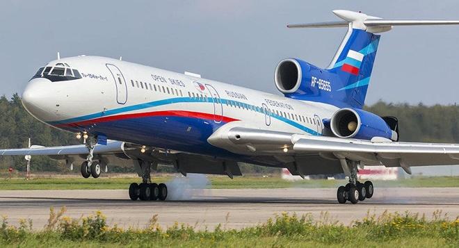 Nga sap bay quan sat tai My bang Tu-154M hinh anh 1