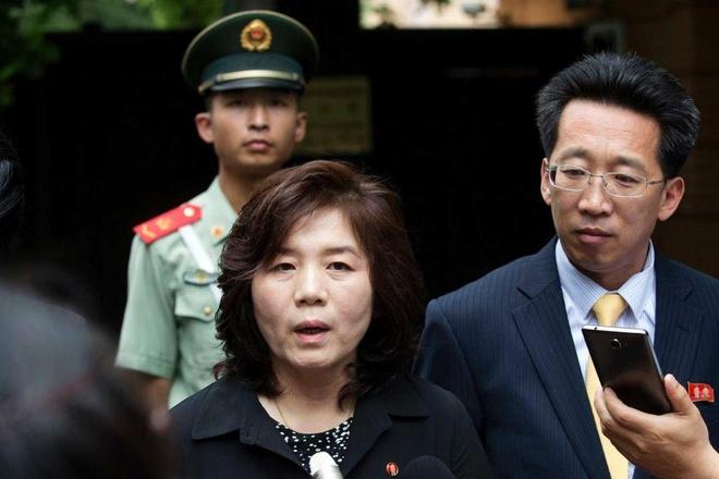 Thu truong ngoai giao Trieu Tien len an co van an ninh cua TT Trump hinh anh 1
