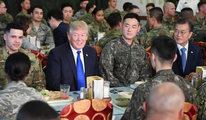 Dan mang Han noi gian vi 'ong Trump xem Han Quoc nhu cay ATM' hinh anh 2