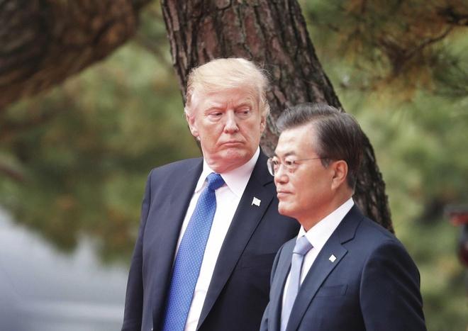 Dan mang Han noi gian vi 'ong Trump xem Han Quoc nhu cay ATM' hinh anh 1