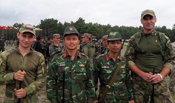 Viet Nam gianh giai ba 'ban tia trong hanh tien' tai Army Games hinh anh 1