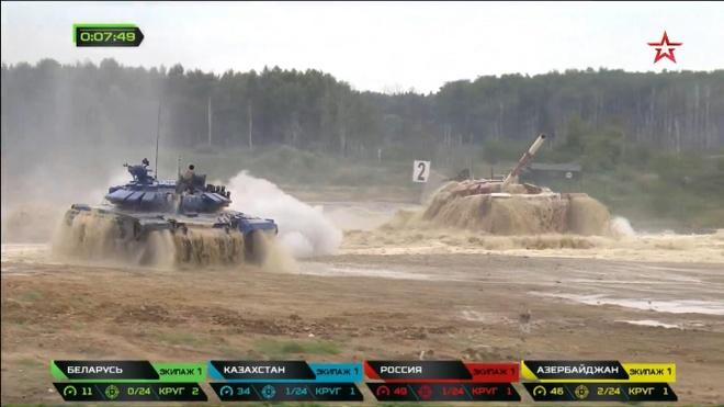 Vuot troi cac doi thu, doi Nga gianh chuc vo dich Tank Biathlon hinh anh 17