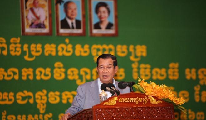 Ong Hun Sen keu goi nguoi Campuchia khong tham gia dao chinh hinh anh 1