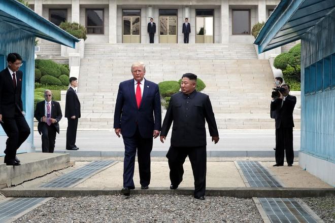 Trieu Tien bat ngo 'nhac nho' My ve han chot tinh ban Trump - Kim hinh anh 1
