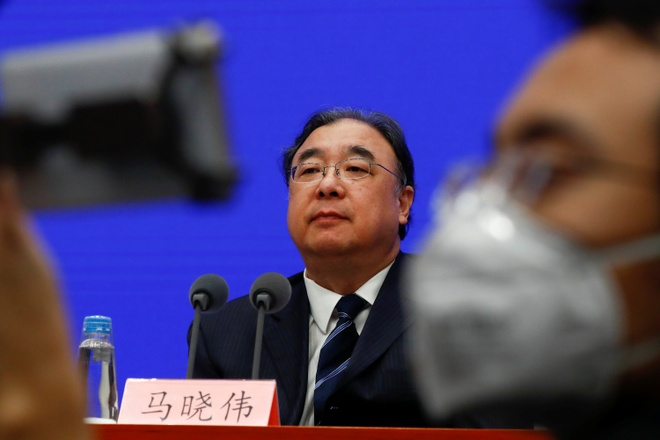 Trung Quoc: Virus corona moi dang manh hon, co the lay khi u benh hinh anh 1 ma.JPG