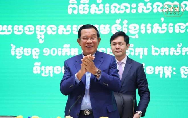 TT Hun Sen den tham sinh vien Campuchia o tam dich Vu Han hinh anh 1 2020_02_03_hun_sen_seoul_facebook.jpg