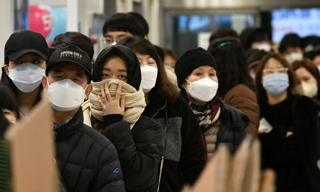 Han Quoc co them 84 ca nhiem virus corona, tong so 977 hinh anh 1 corona_han.jpg
