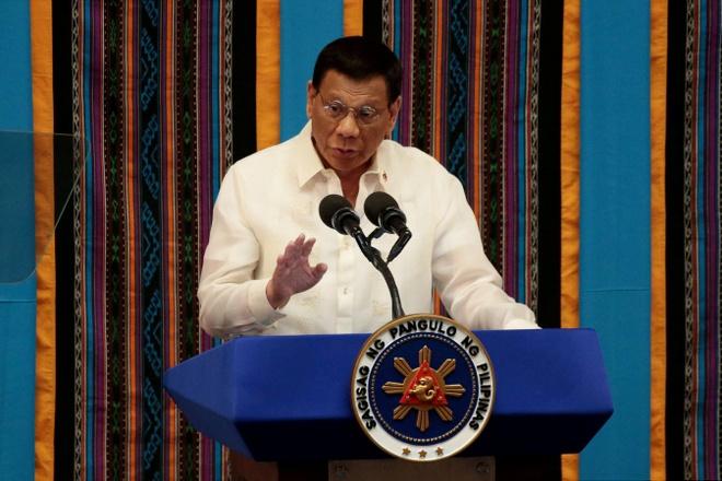 Tong thong Duterte xet nghiem virus corona hinh anh 1 du.JPG