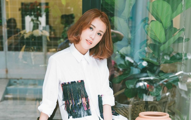 Hot girl Ngoc Thao: 'Di mua com cung phai mac do dep' hinh anh