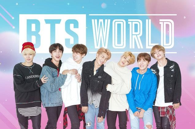 BTS phat hanh game BTS World hinh anh