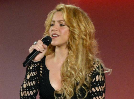 Shakira tung ca khuc chinh thuc World Cup 2014 hinh anh