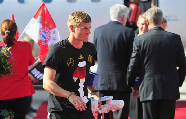 Mùa giải tới, Toni Kroos sẽ là người của Real.
