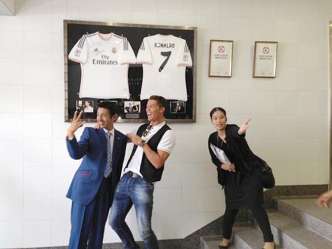 Ronaldo lam chu tich tap doan cao cap o Nhat hinh anh 3