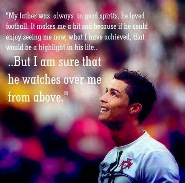 Ronaldo: Cha van doi theo toi tu tren troi cao hinh anh 2