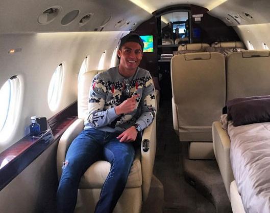 Theo chan sao: Ronaldo di may bay rieng ve Bo Dao Nha hinh anh