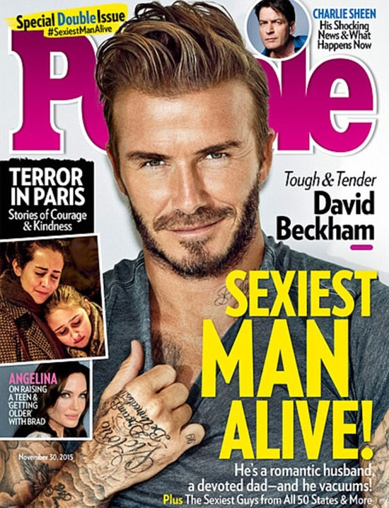 Beckham - nguoi dan ong hap dan nhat hanh tinh hinh anh 1
