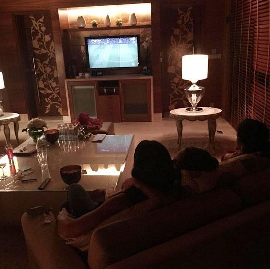 Theo chan sao: Messi thanh thoi du hi tai Dubai hinh anh 11