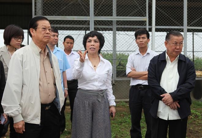 Thai Huong – 'Nguoi dan ba sua tuoi' quyen luc chau A hinh anh 2 Chủ tịch TH True Milk gây sóng gió truyền thông với phát ngôn về ngành sữa.  Ảnh: TH True Milk.