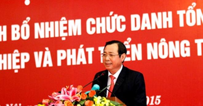 Tong giam doc Agribank: 'Chung toi khong lam trai quy dinh' hinh anh 1 Ông Tiết Văn Thành, Tổng giám đốc Agribank.  Ảnh: Bizlive.
