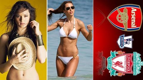 Do WAGs Arsenal - Liverpool: Cuoc chien cua 'nguoi gac den' hinh anh