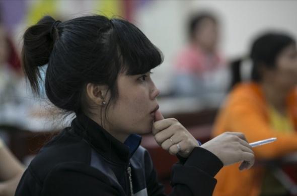 Lop hoc dac biet danh cho phu nu Viet lay chong Han Quoc hinh anh
