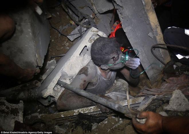 Israel pha huy duong ham Hamas, muc tieu khong kich Gaza hinh anh