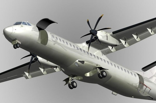 Mo phong may bay ATR 72 cua Dai Loan gap nan hinh anh