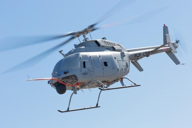 MQ-8C thu nghiem bay hinh anh