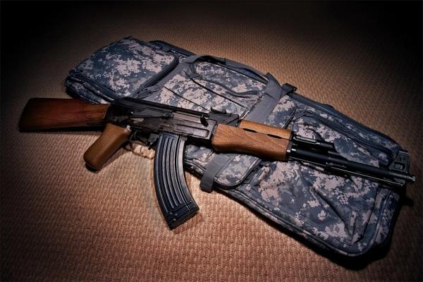 Súng trường tấn công AK-47 do Nga sản xuất. Ảnh: Wikipedia