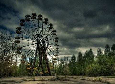 'Thanh pho ma' Chernobyl nhin tu camera bay hinh anh