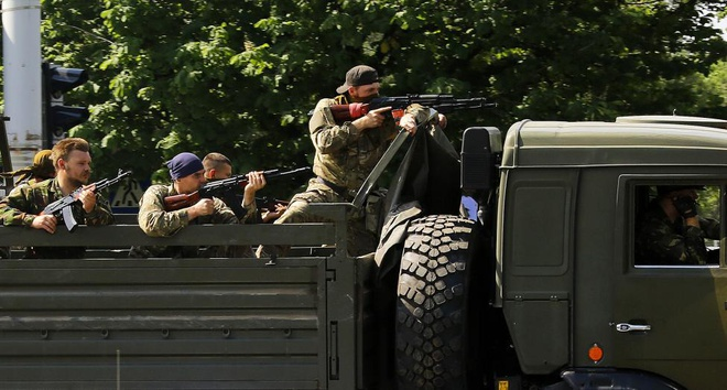 Nhung hinh anh di vao lich su cung bat on Ukraine hinh anh 10