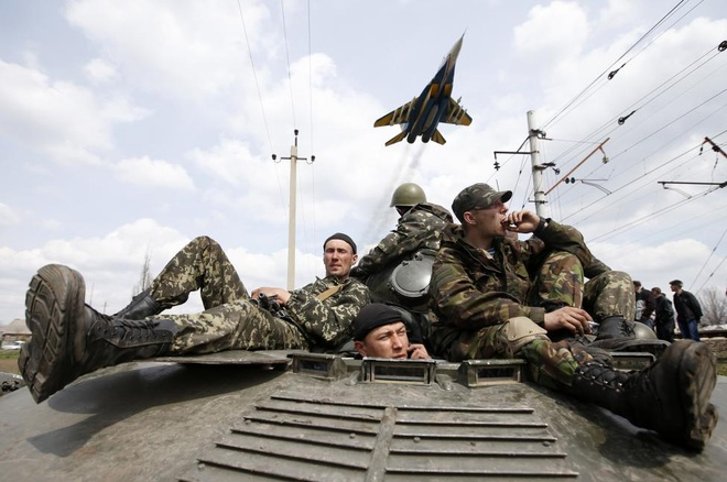 Nhung hinh anh di vao lich su cung bat on Ukraine hinh anh 8