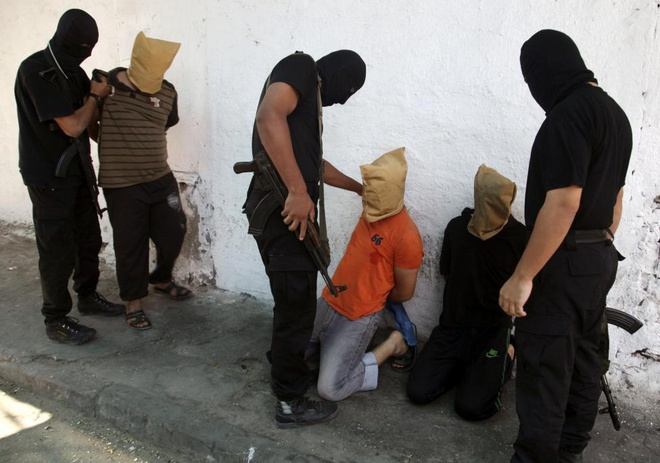 Hinh anh cua nam 2014: Mau nhuom do dai Gaza hinh anh 15