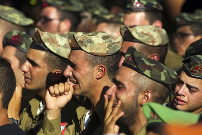 Hinh anh cua nam 2014: Mau nhuom do dai Gaza hinh anh 16