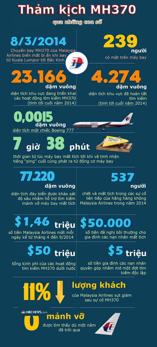 Nhin lai su kien MH370 qua nhung con so hinh anh 1