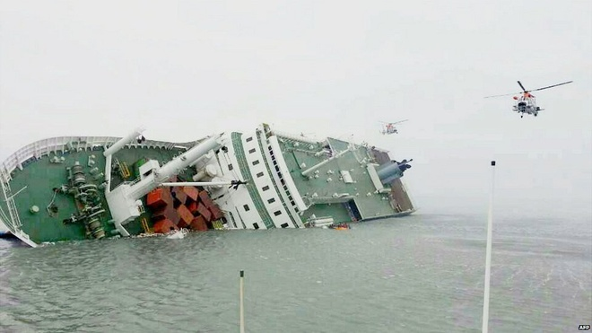 Toan canh tham kich tau Sewol chan dong Han Quoc hinh anh
