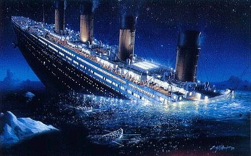 Nhung gio phut cuoi cung tren tau Titanic huyen thoai hinh anh